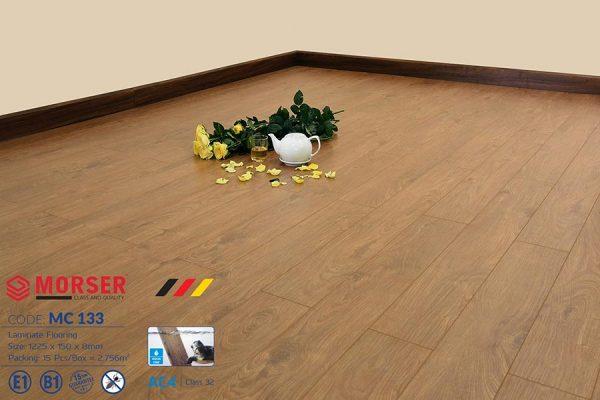 Sàn gỗ Morser 8mm cốt xanh MC133