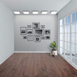 Sàn gỗ Charm Wood 8mm cốt xanh E863 chính hãng