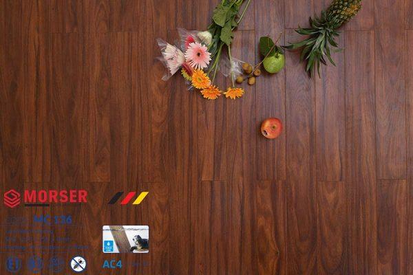 Sàn gỗ Morser 8mm cốt xanh MC136