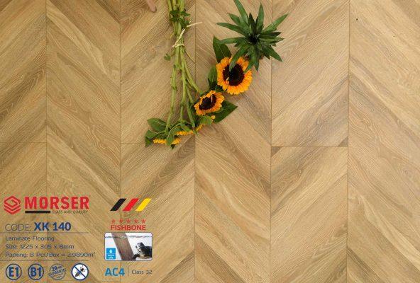 Sàn gỗ Morser kiểu xươnXK140
