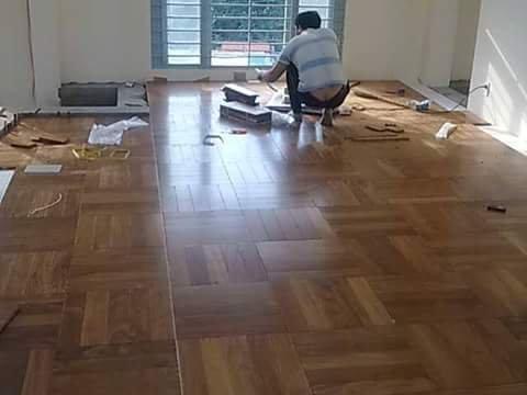 Cách tính chi phí thi công sàn gỗ