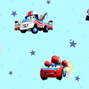 Giấy dán tường Trẻ em Hoạt hình ô tô