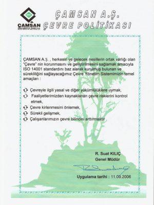 Sàn gỗ Camsan - Thân thiện môi trường