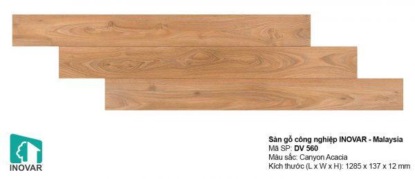 Sàn gỗ Inovar DV560 dày 12mm