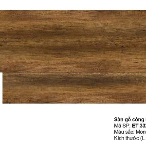 Sàn gỗ Inovar Elite ET332 dày 8mm hèm V