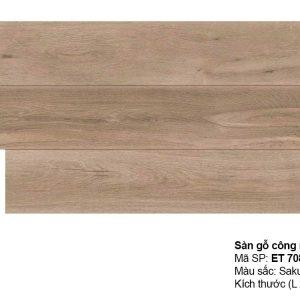 Sàn gỗ Inovar Elite ET708A dày 8mm hèm V