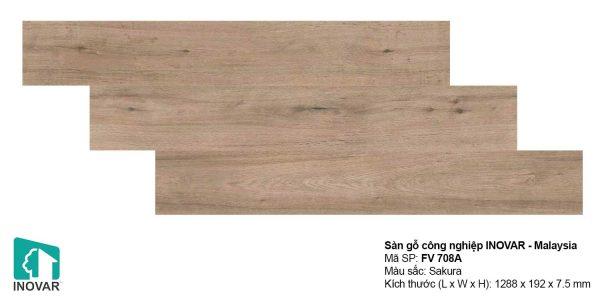 Sàn gỗ Inovar FV708A dày 7.5mm