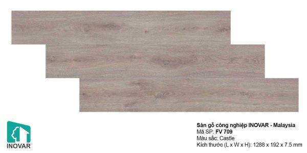 Sàn gỗ Inovar FV709 dày 7.5mm