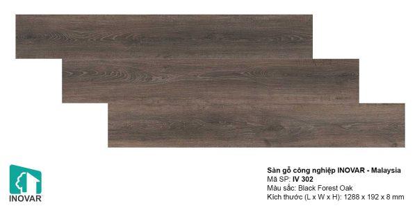 Sàn gỗ Inovar IV302 dày 8mm