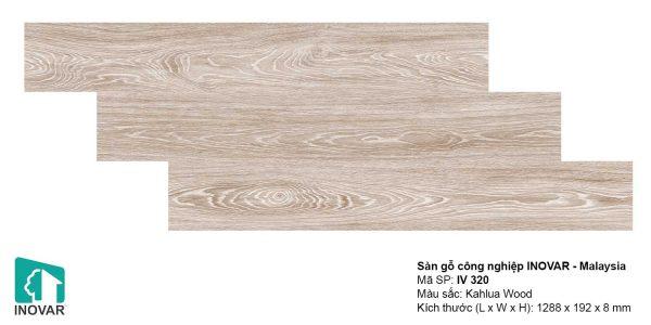 Sàn gỗ Inovar IV320 dày 8mm
