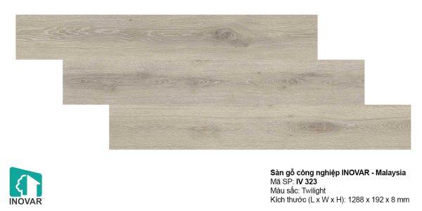 Sàn gỗ Inovar IV323 dày 8mm