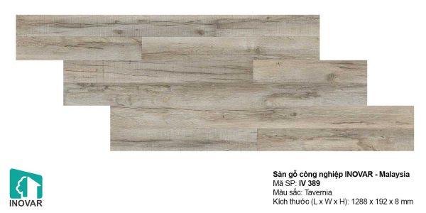 Sàn gỗ Inovar IV389 dày 8mm