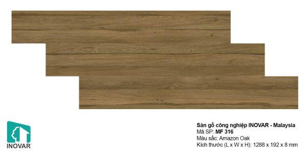 Sàn gỗ Inovar MF316 dày 8mm