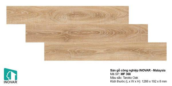 Sàn gỗ Inovar MF368 dày 8mm