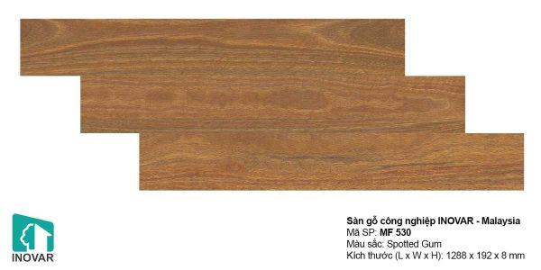 Sàn gỗ Inovar MF530 dày 8mm