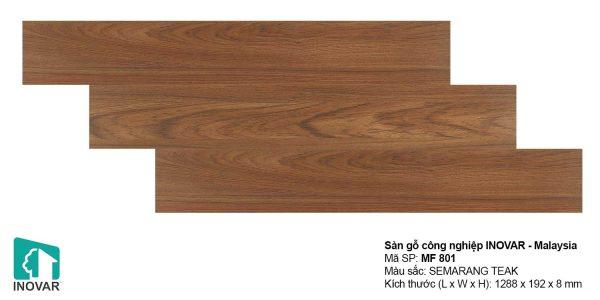 Sàn gỗ Inovar MF801 dày 8mm