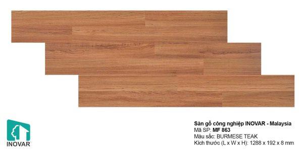 Sàn gỗ Inovar MF863 dày 8mm