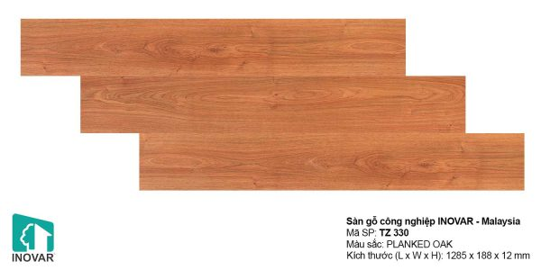 Sàn gỗ Inovar Traffic Zone TZ330 dày 12mm