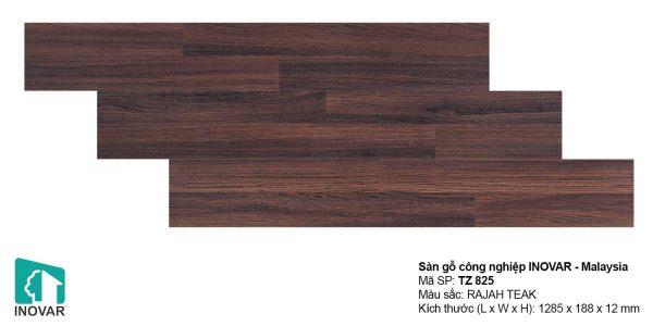 Sàn gỗ Inovar Traffic Zone TZ825 dày 12mm