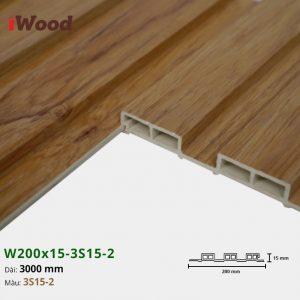 Tấm ốp tường trần 3 sóng iWood 3S15-2