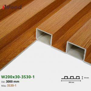 Tấm ốp tường trần 3 sóng iWood 3S30-1