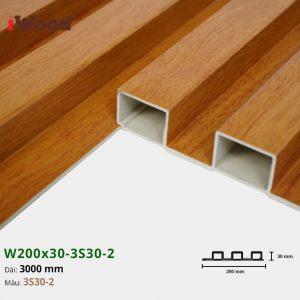Tấm ốp tường trần 3 sóng iWood 3S30-2