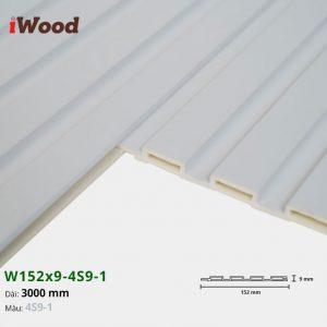 Tấm ốp tường trần 4 sóng iWood 4S9-1