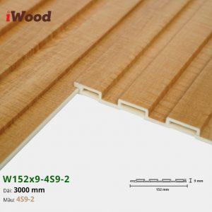 Tấm ốp tường trần 4 sóng iWood 4S9-2